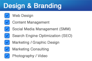 Design & Branding Services | Website Development, Graphic Design, Professional Photography, Brand / Logo Development, Content Management, Social Media Management | Venture Consulting Group, Inc.