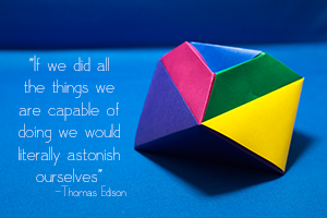 "Design & Branding Services | ""If we did all the things we are capable of doing we would literally astonish ourselves"" -Thomas Edison 