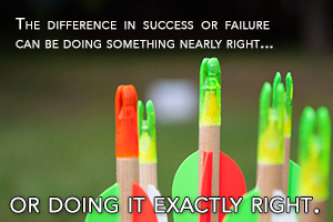 Publishing Service | The difference in success or failure can be doing something nearly right... or doing it exactly right. | Venture Consulting Group, Inc.