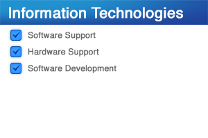 Information Technologies | Remote Software Support, Hardware Technical Support, Network / Software Infrastructure Planning, Custom DB Development / Management | Venture Consulting Group, Inc.