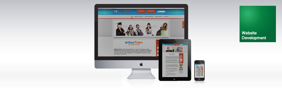 Brilliant Tutors | Web Development | Venture Consulting Group, Inc. Services | Portfolio