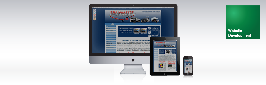 Roadmaster Active Suspension | Web Development | Venture Consulting Group, Inc. Services | Portfolio