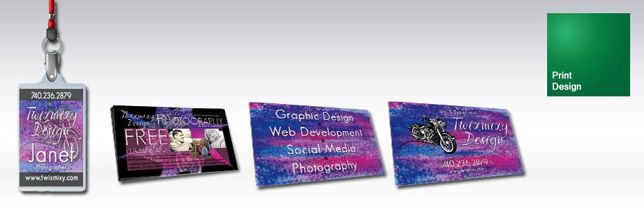 Twixmixy Design Print Design