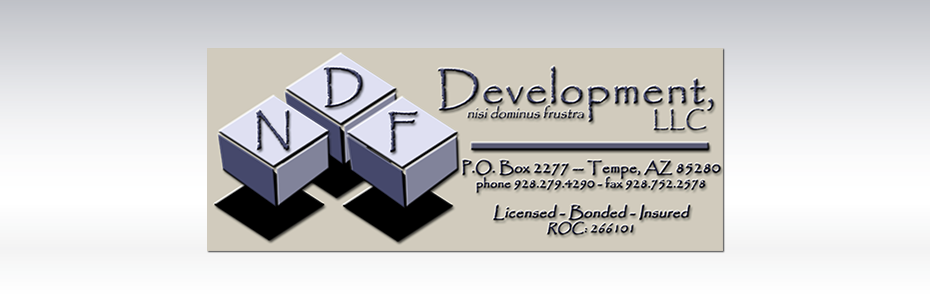 NDF Development, LLC. Portfolio on Venture Consulting Group, Inc.