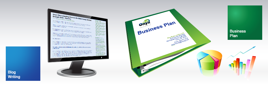 Blog Writing | Business Plan | Onyx Power & Gas Portfolio on Venture Consulting Group, Inc.