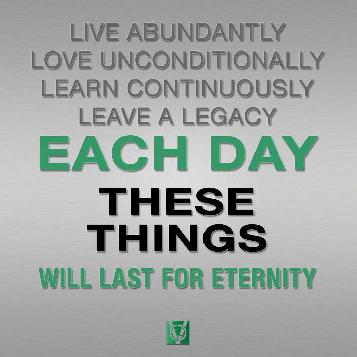 Creating a Legacy of Wisdom™